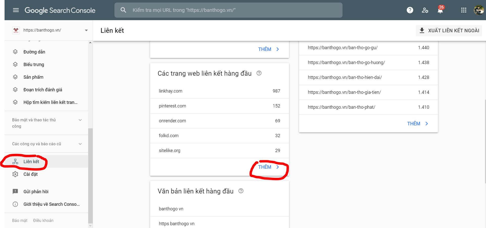 Cách chặn Backlink xấu bằng Google Search Console phiên bản mới